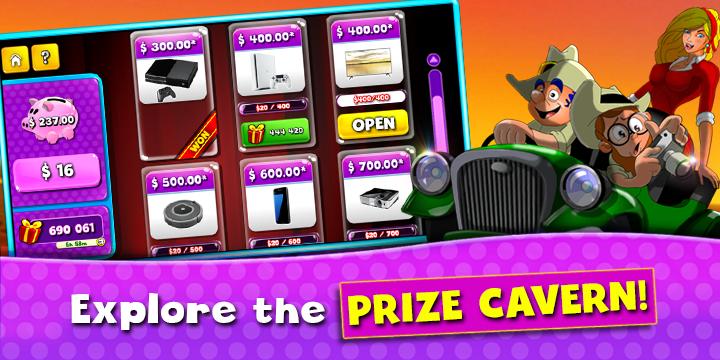 Prize Fiesta Prize Cavern