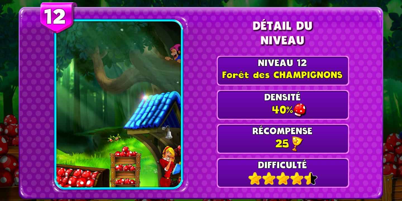 Prize Fiesta Niveau 12